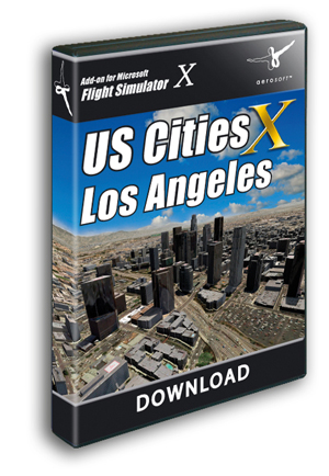 US Cities X - Los Angeles (download version) (Aerosoft 11721-D)