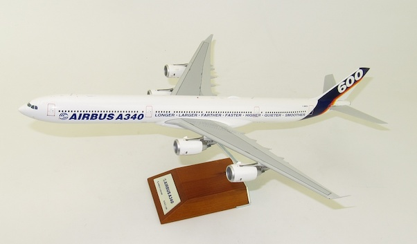 A340-600 (Airbus Industrie House Color) F-WWCA with Stand  XX2091