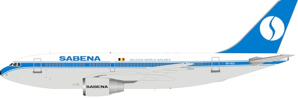Airbus A310-200 Sabena OO-SCA With Stand  IF310SB0720