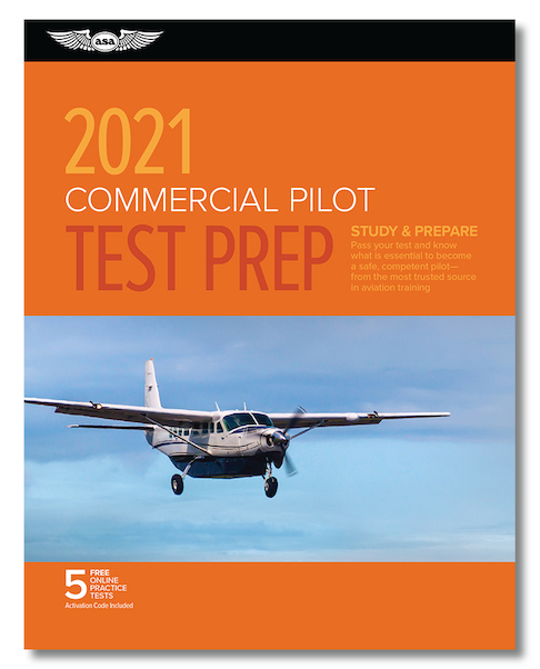 Commercial Pilot Test Prep 2021  9781619549692
