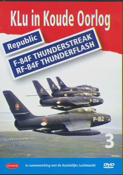 Klu in Koude Oorlog vol.3: Republic F84F Thunderstreak/RF84F Thunderflash ( (DOWNLOAD version))  KLU03-D