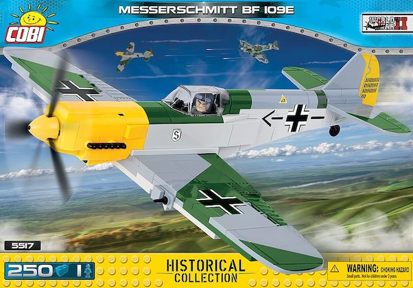 Messerschmitt BF109  (250 pieces)  5517