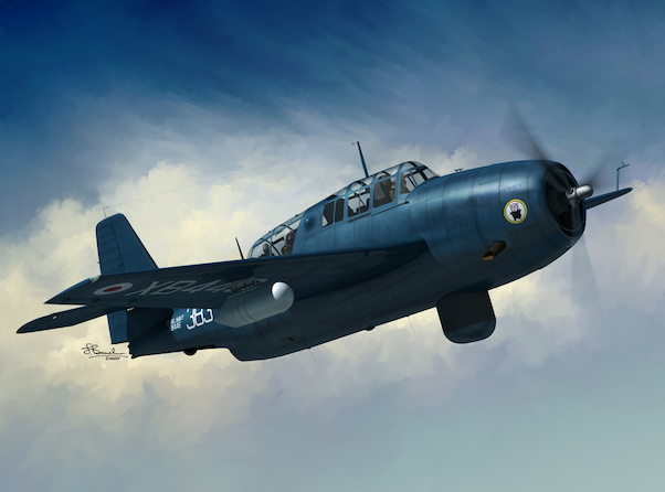 Grumman TBM-3S/ Avenger AS.4  (2 markings FAA,RCN) (Expected now first week of August)  SW72130