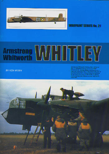 Armstrong Whitworth Whitley MK1 to MKVII  WS-21