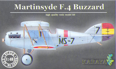 Martinsyde F4 Buzzard (Spanish Version)  KY48026
