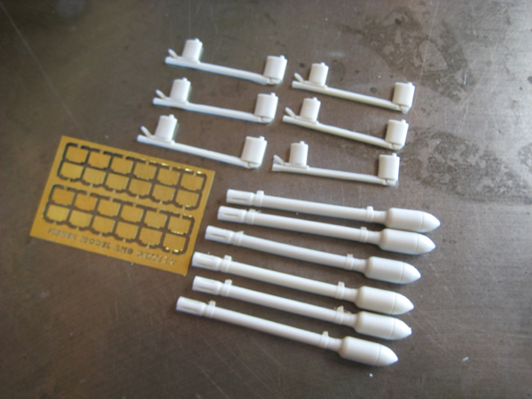60LB Rocket projectiles set  ahc5