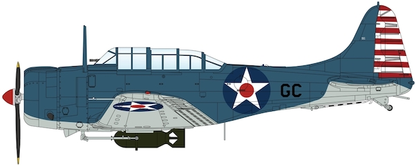 Douglas SBD-2 Dauntless US Navy