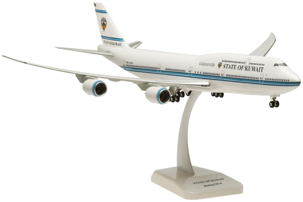 B747-8 (State of Kuwait) 9K-GAA with stand and gears  HG0021
