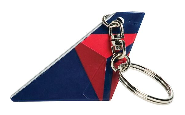 Delt Air Lines Tail keychain  TK2606