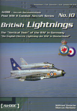 British Lightnings, the vertical twin of the RAF in Germany  3935687109