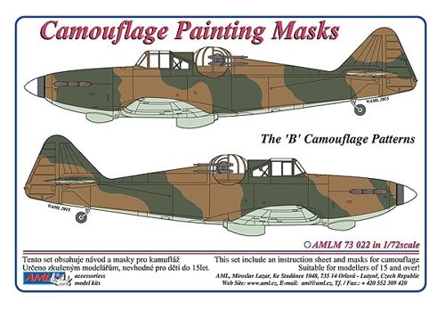 Camouflage Painting masks B.P. Defiant