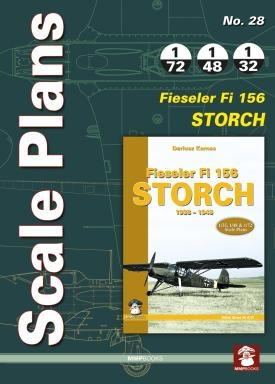 Scale Plans: Fieseler Fi156 Storch  9788363678975