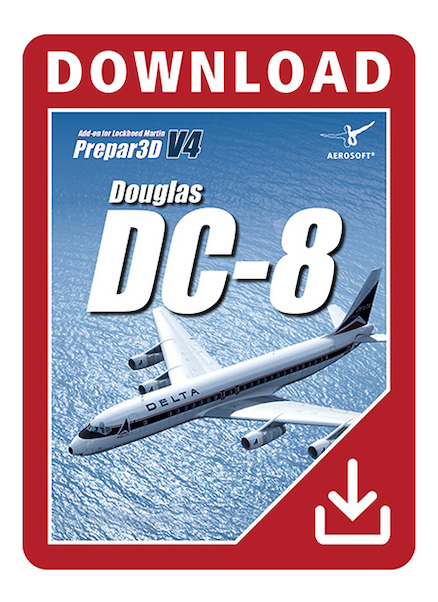 Douglas DC-8 (download version)  AS14363