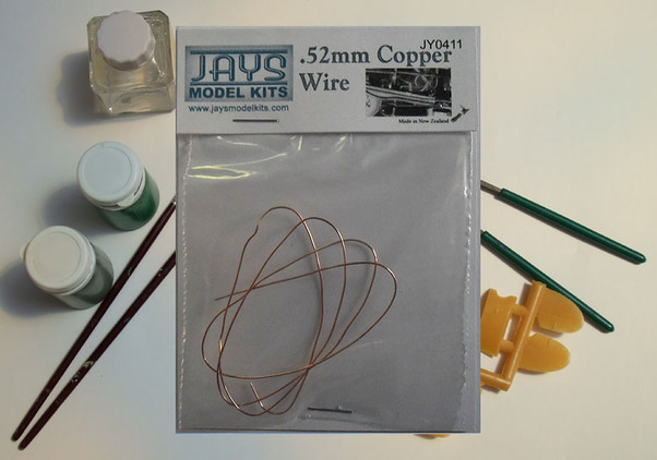 Copper wire .52mm thick (50cm)  jy0411