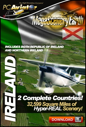 Mega Scenery Earth: Ireland (Download version)  DL-MSE-IE