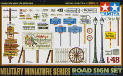 Military Miniature Road Sign Set  32509