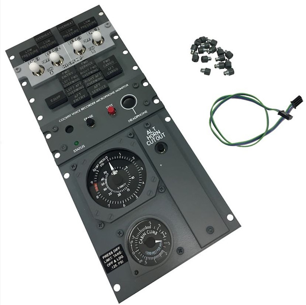 B737 ICS  FWD Overhead Panel Kit (Hyd Pump Switch Panel)  HYD_PUMPS