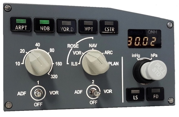 A320 First Officier EFIS selector.  EFI320R