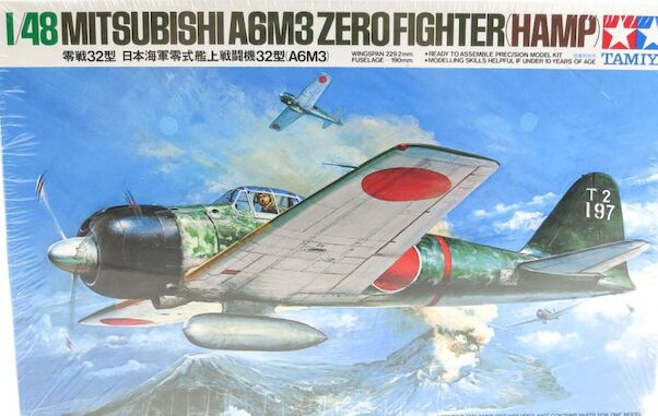 Mitsubishi A6M3 Zero fighter (Hamp)  61025
