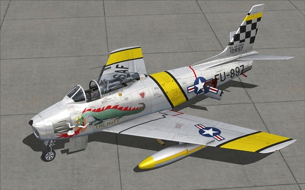 F-86F-30 Sabre (Download Version)  148715-D