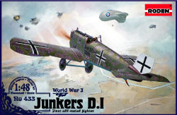 Junkers D1 early long fuselage version  433