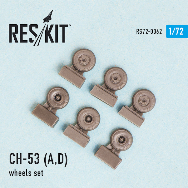 Sikorsky CH53A/D Wheel set  RS72-0062