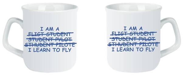 I Learn To Fly: I am Student Pilot  MOK-LEARN