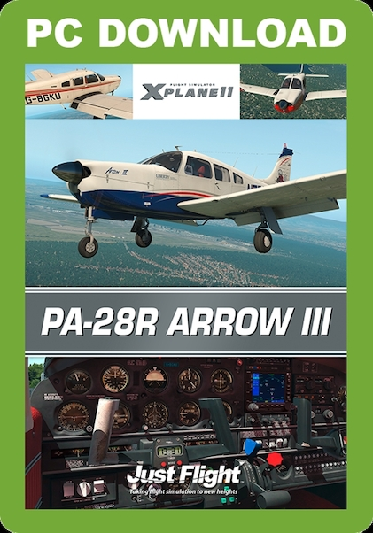 PA28R Arrow X-Plane 11 (download version)  J3F000229XP-D