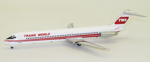 DC9-51 (TWA, Trans World Airlines) N416EA With Stand  IFDC950917