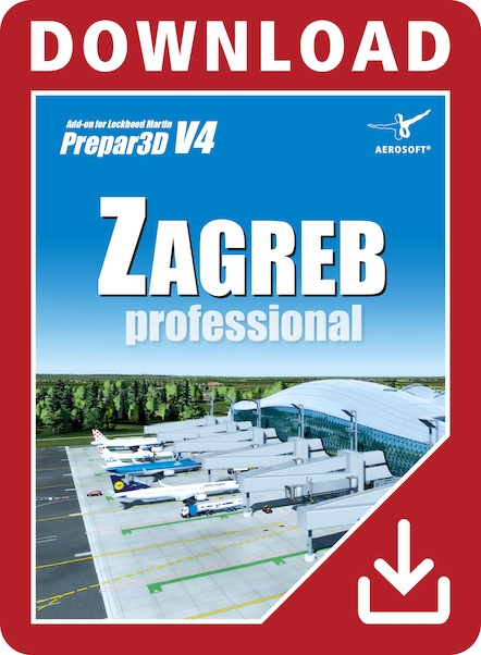 Zagreb Professional Airport  (download version)  AS14718