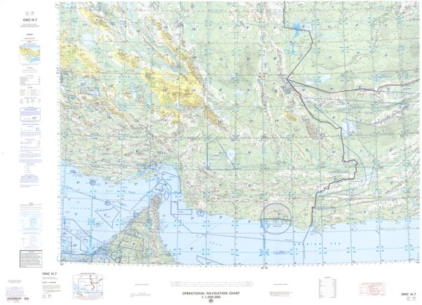 ONC H-7: Available: Operational Navigation Chart for United Arab. Emirates, Oman, Iran, Afghanistan, Pakistan. Available ! additional charts available within five working days. E-mail your requirements.  ONC H-7