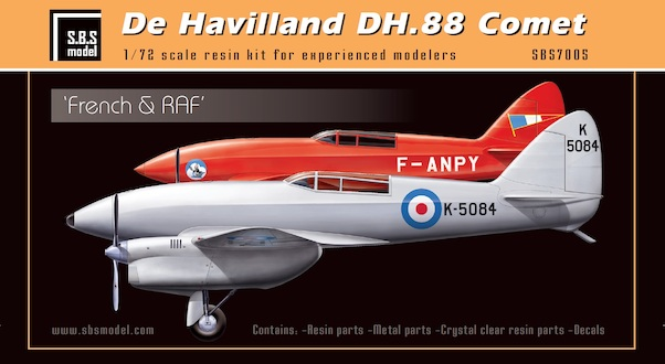 De Havilland DH88 Comet 'RAF, France'  SBS7005