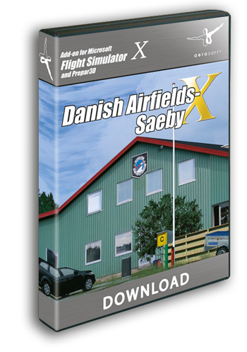Danish Airfields X Saeby (download version)  13158-D