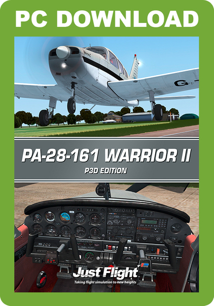 Piper PA-28-161 Warrior II (Prepar3D version)  J3F000226-D