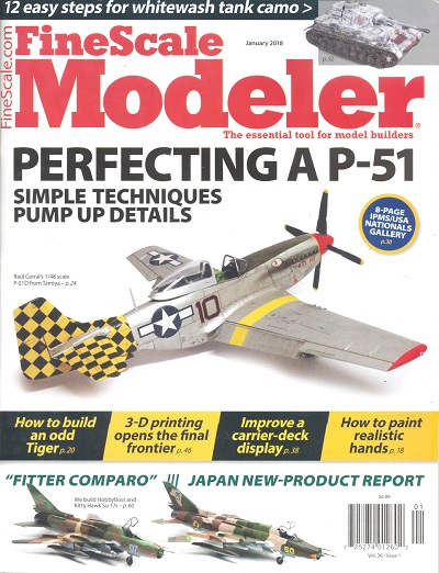 Fine Scale Modeler - Vol. 36 issue 1 January 2018  072527401260201