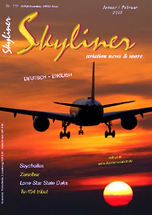 Skyliner, Aviation News & More Nr. 111 January / February 2019  SKYLINER 111