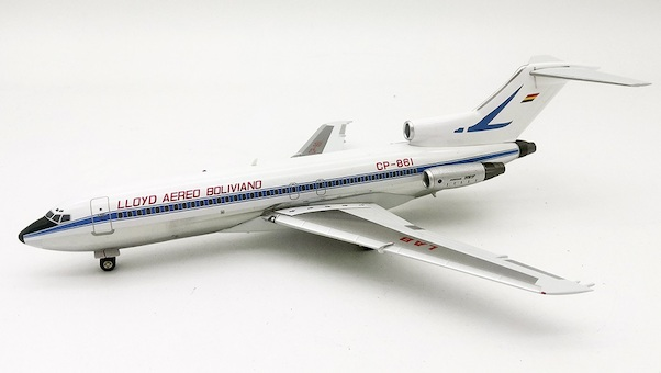 Boeing 727-100 Lloyd Aereo Boliviano CP-861 With Stand  EAV861
