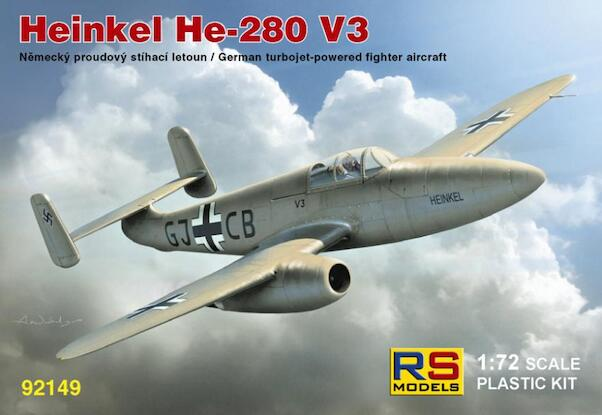 Heinkel He280V-3 (HeS Engines)  92149
