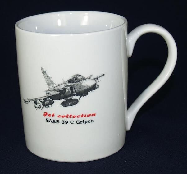 Mug Jet Collection Saab 39C Gripen  HL028