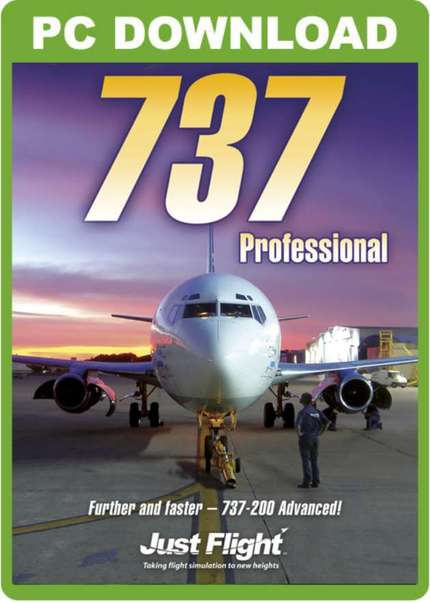 737 Professional (download version FSX)  J3F000087-D