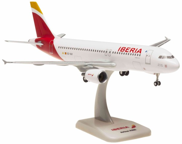 A320 (Iberia) EC-ILR with stand and gears  HG0649