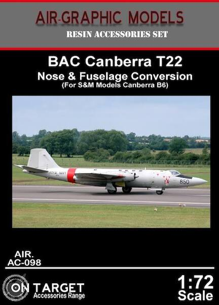 Canberra T22 Conversion (S&M, AMP)  AIR.AC-098