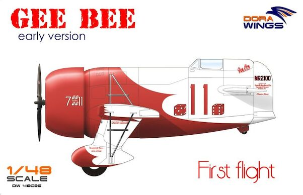 Gee Bee Super Sportster R1 Early version  DW48062