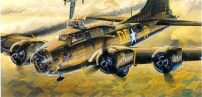 Boeing B17F Flying Fortress