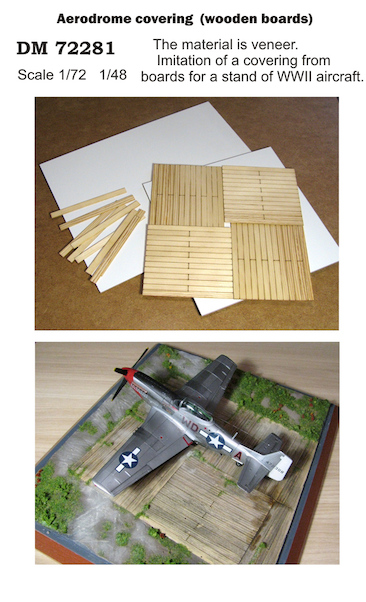 Aerodrome Covering (Wooden Boards)  DM72281