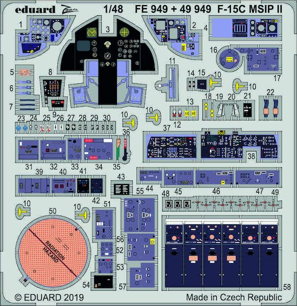 Detailset F15C MSIP II Interior (Great Wall)  E49-949