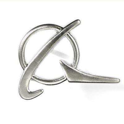 Boeing Symbol Silver Lapel Pin Aviationmegastore