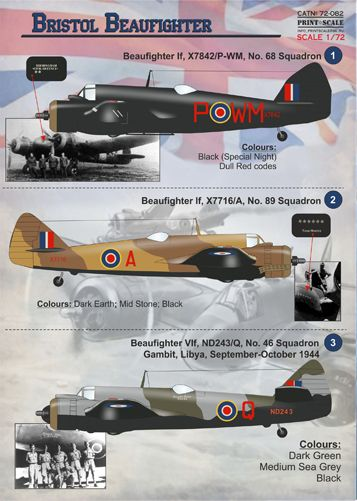 Bristol Beaufighter  PRS72-082