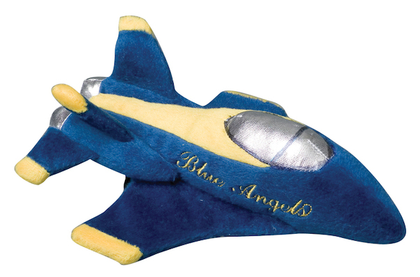 Plush Plane with sound (Blue Angels)  MT017