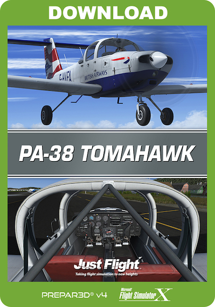 PA-38 Tomahawk P3D (download version)  J3F000267-D